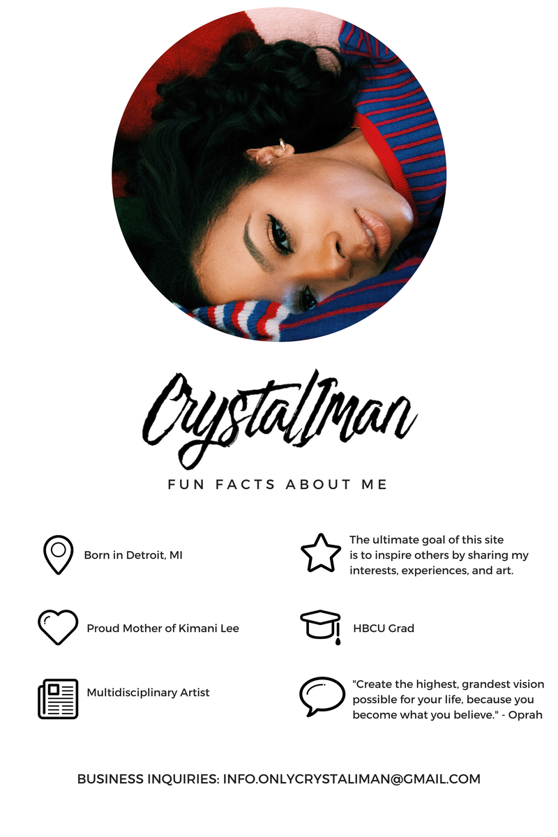 Crystal Iman Fun Facts